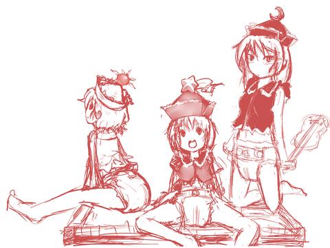 虹川3姉妹